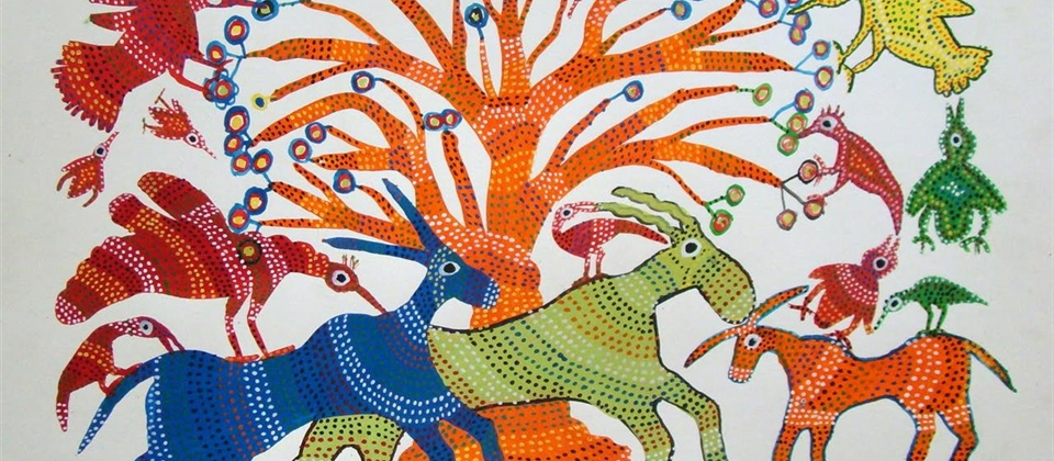 Gond Tribal Art Workshop with Jyoti Gosavi - Free Workshop