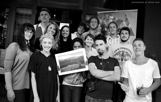 Wellington Artists help reach $15000 fund raising target!